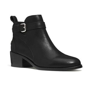 Coach Prudence Black Ankle Booties
